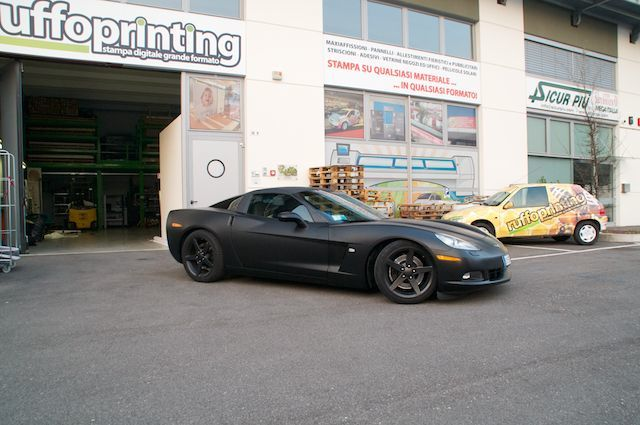 CarWrapping Corvette