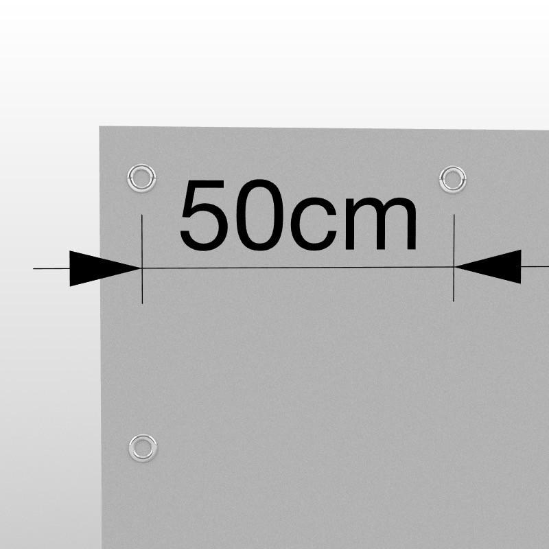 Occhielli ogni 50cm