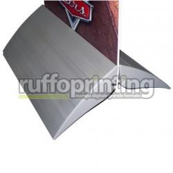 Base porta pannello in alluminio